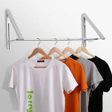 jerrybox retractable clothes hanger racks adjustable wall mounted