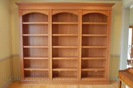 Wood Bookcase Plans Free by Career Improvement Bc162 Built In Bookshelves Plans Hampedia