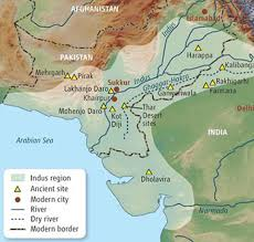 ancient india a map of the early indus valley origins