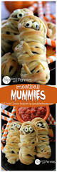 Halloween Appetizers Recipes Pictures by Meatball Mummies Spend With Pennies