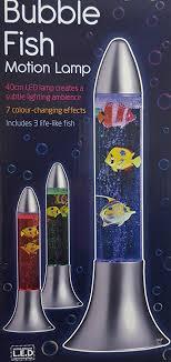 color changing lava l colour changing bubble fish motion lava lamp amazon co uk kitchen