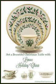 lenox holiday china for christmas christmastimetreasures com