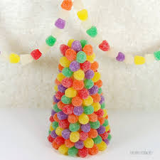 dia advent day 11 i like winter and gumdrop trees and