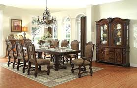 formal dining room sets for 12 12 seat dining room set dazzling tables dining table for chairs