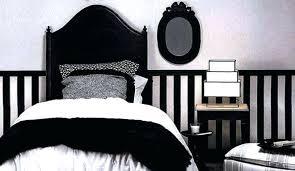 chambre blanc et noir chambre blanche et daccoration chambre noir et blanc idaces