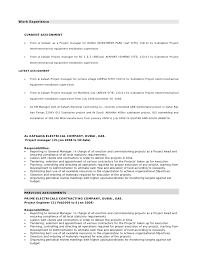 download electrical site engineer sample resume