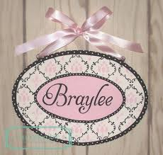 baby name plates 64 best custom painted plaques images on shower