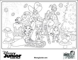 disney jr christmas coloring pages free background coloring disney