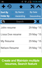 Fix My Resume Resume Builder Free Android Apps On Google Play