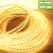 led light strip waterproof 110v flexible led strips 50m warm white waterproof led outdoor