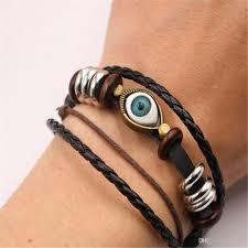 leather bracelet designs images New bracelets men jewelry charm genuine leather bracelets designs jpg