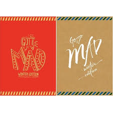 got7 mini repackage album mad winter edition merry ver or