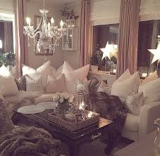 romantic living room don t like the stars and or other lighting but that cozy couch