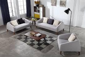 salon canap gris contemporain moderne linge de stockage tissu canapé gris salon sofa