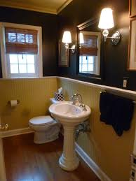 Black Powder Rooms Powder Room Facelift The Wry Home