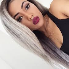 best shoo for gray hair for women 83 best denim steel hair images on pinterest colourful hair
