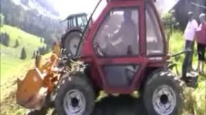 tracteur en bois sarl le dahu des bauges tracteur de pente youtube