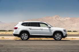 atlas volkswagen white 2018 volkswagen atlas v 6 first test review party motor trend