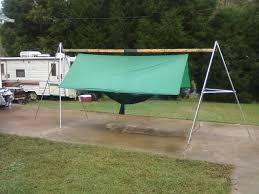 portable hammock tarp stands