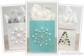 craft cottage diy gift bags as a button