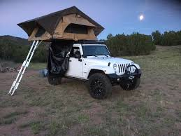 camping jeep wrangler cascadia roof top vehicle tents camp is where you park it