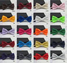 solid fashion bow ties for grooms bowties wedding marriage