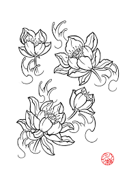Fleur De Lotus Tattoo by Lotus Flower Drawings For Tattoos Lotus Flower By Laranj4 On