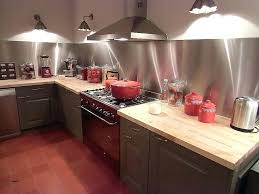 credence cuisine inox credence cuisine inox stunning cuisine bois noir inox ideas design