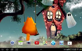 romantic halloween background cute halloween wallpaper android apps on google play