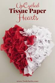 Valentine S Day Decorations Easy To Make by Tissue Paper Heart Valentine U0027s Day Decorations Chocolate