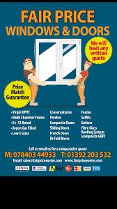 new fair price leaflets fair price windows u0026 doors