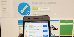 play doodle draw you can now play a in messenger