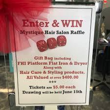 mystique hair salon home facebook