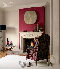 Red Feature Wall In Bedroom Here U0027s A Bit Of Inspiration From Our Library A Warm Redcurrant