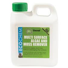 Moss Cleaner For Patios Ecochem Algae U0026 Moss Remover 1000ml Departments Diy At B U0026q