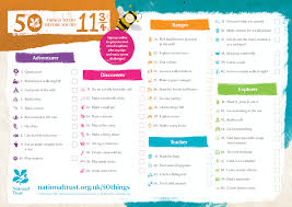 Things To Do With Your Family On The 50 Things To Do Before You Re 11 Parkland Infant School