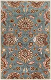 Kingdom Rugs Concord Global Trading Jewel Voysey Red Area Rug