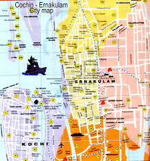 Map Of India Cities Cochin Map