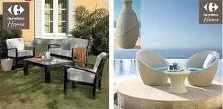 muebles de jardin carrefour muebles de jardín en carrefour