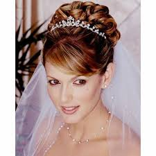 Hochsteckfrisurenen Hochzeit Mit Diadem by Hair With Diadem The Up Is This Picture