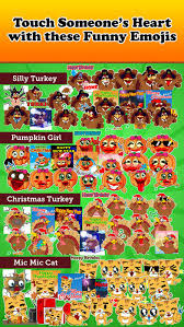 Thanksgiving Emoticons Free Emoji Kingdom Free Christmas Turkey Emoticons On The App Store