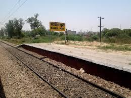 New Delhi Metro Rail Map by Mangolpuri Railway Station Map Atlas Nr Northern Zone Railway