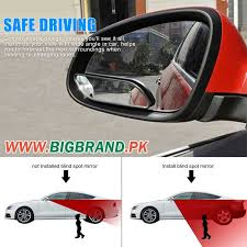Where To Install Blind Spot Mirror 2 Pcs Car Wide Angle Convex Rear Side View Blind Spot Mirror