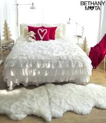 white ruffle duvet cover single white ruffle duvet covers vintage