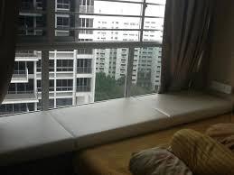 Home Interiors Figurines Trapezoid Bay Window Cushion Image Of Leather Bay Window Cushions