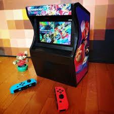 how to make an arcade cabinet nintendo switch diy arcade cabinet blogdottv