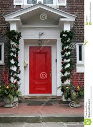 used front doors for homes christmas decorated front doors