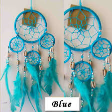 American Indian Decorations Home by Compare Prices On Blue Dreamcatcher Online Shopping Buy Low Price