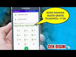 kode kuota gratis telkomsel heboh kode kuota gratis 17gb telkomsel 2018