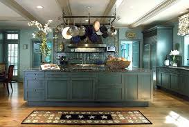 country kitchen color ideas country blue kitchen cabinets blue country kitchens green white wall